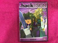 DVD Animazione Manica Hack Sign Hack Sign Volume 2 Anime Manga