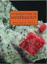 Introduction to Mineralogy by William D. Nesse (1999, Hardcover, Reprint)