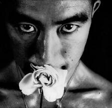 "Tamotsu Yato Japan Male Flower Seductive Eyes - 17"" x 22"" Fine Art Print - 01238"