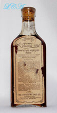 WESTERN antique DENVER POULTICE bottle ATHEUCAINE embossed AND labeled NEBRASKA
