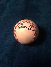 BRUCE CHEN Andy Benes GEORGE LOMBARD Signed National League Baseball AUTOGRAPHED