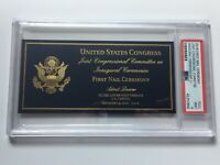2016 President Donald Trump Inauguration Driving First Nail Ceremony Ticket PSA