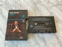 Frank Sinatra My Way CASSETTE Tape Reprise M5 1029 Hard Black Shell RARE! OOP!