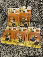 NEW! Lot of 5 Despicable Me 3 Collectible Action Figures Sealed Packaging