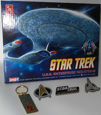 STAR TREK THE NEXT GENERATION : ENTERPIRSE 1701-D KIT, KEY RING & MAGNETS (TK)