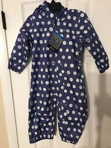 Columbia Rain Suit Coveralls 18-24 Months NWT