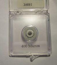 Edmund Optics Precision Pinhole 400 micron diameter, # 39881 new