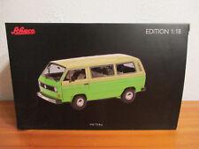 ( GO ) 1:18 Schuco VW T3 Bus vert / beige neuf emballage scellé