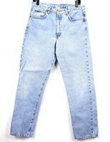 Calvin Klein Womens Size 11 Jeans High Waist Straight Leg Mom Jeans Light Wash