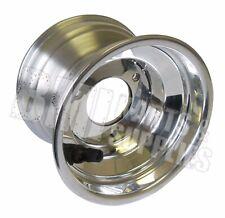"VanK 5"" x 3-1/2"" Polished Aluminum Wheel For Go Kart Wheel Parts Cart New"