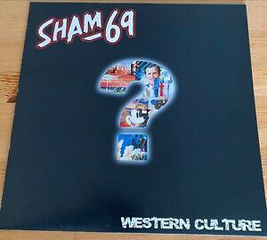 Sham 69 – Western Culture - Vinyl LP - Mint Condition