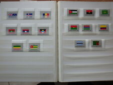 16x stamps ONU Nations Unies UN United Nations NEW YORK Flags 1986 MNH**  1x