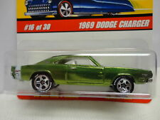 Hot Wheels 1969 DODGE CHARGER Green Variation '69 HW CLASSICS Series 2 #16