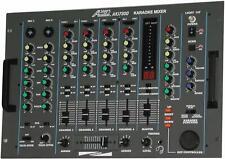 Audio2000's Akj7300 Professional Karaoke/ Dj Mixer w/ Key Control & Echo -New