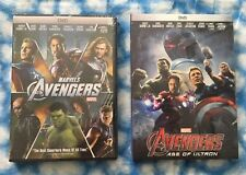 Marvel's The Avengers & Avengers Age of Ultron 2-DVD Bundle - Free USPS Shipping