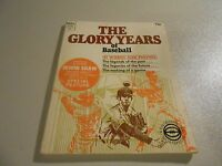 1972 The Glory Years of Baseball small Dell paperback book