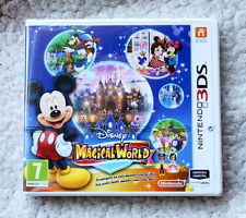 NINTENDO 3DS Game: MAGICAL WORLD (MICKEY MOUSE, DISNEY). PAL, BRAND NEW & SEALED