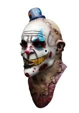 Halloween Latex Head Neck & Face Mask Clown Mime Zack