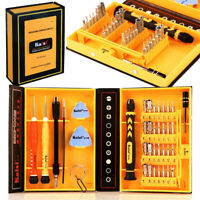 38 in 1 Precision Tools Magnetic Screwdriver Set Repair Tool Kit w/ Storage Case