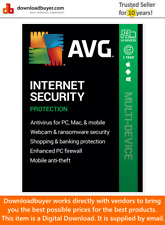 AVG Internet Security 2020 - 10 Device- 1 Year [Download]
