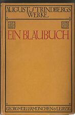 Ein Blaubuch / August Strindberg / 1920