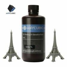 ANYCUBIC 1kg Grey(Grigio) Color UV Resin per Stampante 3D LCD SLA Photon MONO X