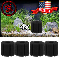 4 pcs Replacement Sponge Filter XY-180 breeding fry bubbler aquarium Bio shrimp
