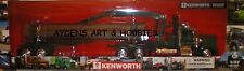 New Ray 1:32 SCALE DIE CAST KENWORTH W900 GREEN w/ LOG TRAILER