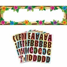 NEW Amscan Hot Luau Personalized Giant Party Sign Banner 65 x 20 Multicolor
