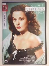 Great Cinema Classics - 15 Movies (2 DVDS) (NEW/SEALED) See list of movies