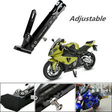 Motorcycles Kickstand Side Tripod Bracket Foot Stand Scooter Standard Adjustable