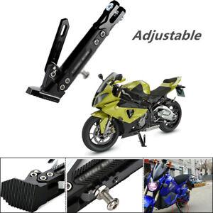 Motorcycles Kickstand Side Tripod Bracket Foot Stand Scooter Standard Adjustable