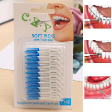 Cepillo interdental dental 200pcs Oral Clean Teeth Stick Floss Pick dab298bed8fc