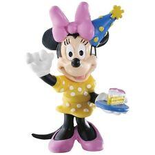 Disney - Minnie Mouse Celebration Cake Topper Figurine / Cake Figure - Bullyland