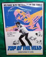 NEW RARE OOP CODE RED CHRISTOPHER ST. JOHN TOP OF THE HEAP CULT B MOVIE DVD 1972