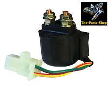 Solenoide Relé de arranque eléctrico de 2 Pines: Yamaha YFM 80 100 200 225 250 350 400