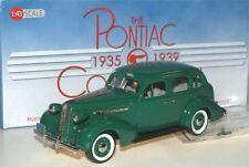 Brooklin PC 04, 1936 Pontiac Deluxe Six 4-Door Touring Sedan, Neptune green,1/43