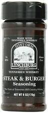 Historic Lynchburg Steak & Burger Seasoning - 6 oz.