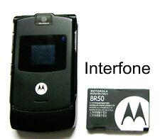 Motorola V3 fotocamera telefono cellulare EDGE-bloccato per Vodafone UK-CONDIZIONI ECCELLENTI