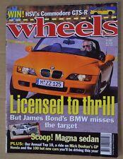 Wheels Jan 1996 Ford Falcon XR6 Holden Commodore SS BMW Z3 Doohan Honda NSR500