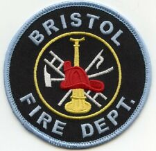 BRISTOL NEW YORK NY FIRE PATCH