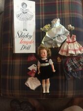 VINTAGE 1950'S SHIRLEY TEMPLE DOLL IDEAL TOY CO. NO 9500 W/BOX AND CLOTHES