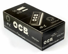 1 box - OCB Single Premium No1 rolling paper regular size 70mm - 2500 papers
