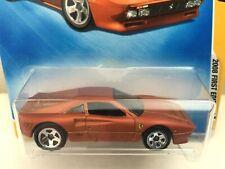 Hot Wheels FERRARI GTO 288 - 2008 First Editions #38 - Matte Bronze DD5 - RARE!