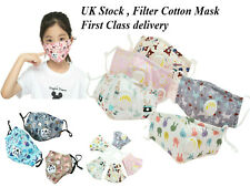 Childrens Breathable Face Mask Unisex Reusable Washable Good Protection for kids