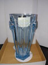 New ListingLenox Butterfly Meadow Glass Set Teal Blue 4 Nib Hiball 18 Oz Rare Made n Germay