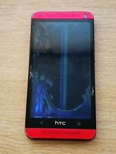 HTC One M7 PN07110 - Red - Faulty (Spares or Repairs)