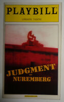 JUDGMENT AT NUREMBERG  OPENING NIGHT PLAYBILL - MARCH 26, 2001