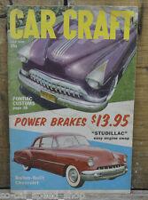 CAR CRAFT 1957 HOT ROD JOE BAILON CHEVY 49 50 51 MERCS BARRIS HOW TO CAD V8 VTG
