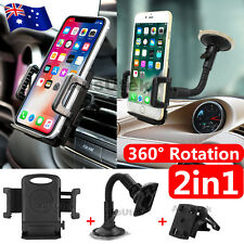 Universal Car Mount Phone Holder Vehicle For Samsung Galaxy S9 S8 Plus S7 Note 9